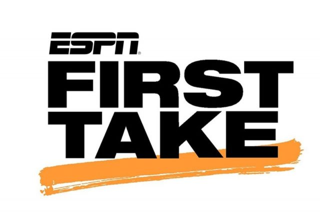 """ESPN """"First Take"""" (In-Show)"""